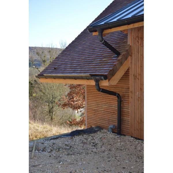 Bardage douglas naturel profil faux claire voie les for Bardage bois faux claire voie