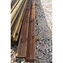 Lame de terrasse pin traité autoclave marron